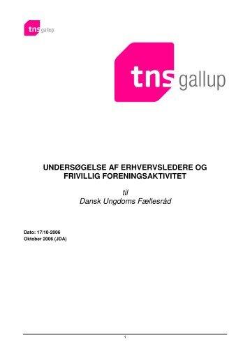 Undersøgelse af erhvervsledere og frivillig foreningsaktivitet - Dansk ...