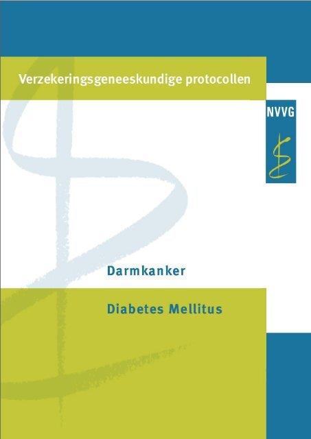 voorkomen van diabetes mellitus en nederlandse bevolking naar