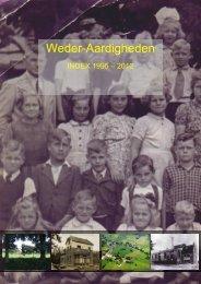Weder-Aardigheden 1995 - 2012 - Historische Kring Wederden