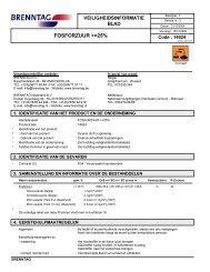 Fosforzuur Brenntag - Horticoop