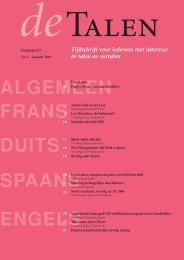 Vertaling Frans-Nederlands - Uitgeverij Tandem Felix