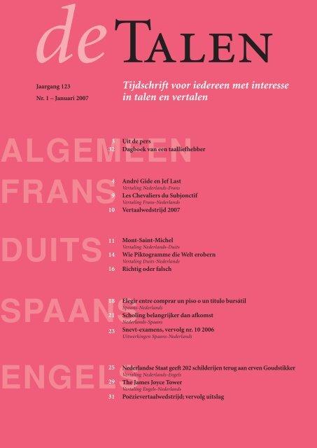 Vertaling Frans Nederlands Uitgeverij Tandem Felix