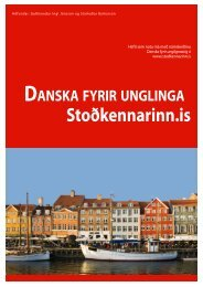 Book 1 - Stodkennarinn.is