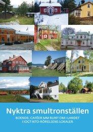 Omslag Nyktra smultronställen - IOGT-NTO