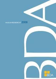 HALBJAHRESBERICHT 2008 - Bundesvereinigung der Deutschen ...