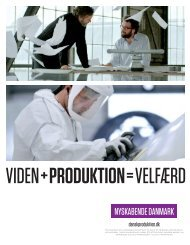 Viden + Produktion = Velfærd - Dansk Produktions Univers