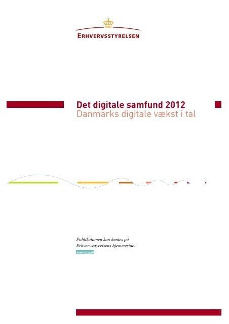 Det digitale Samfund 2012 - Erhvervsstyrelsen