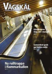 Ny rulltrappa i Hammarkullen - Göteborg