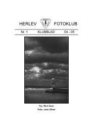 Klubblad Nr.1 04-05 - Herlev Fotoklub