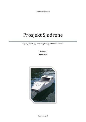 Prosjekt Sjødrone
