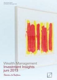 Investment Insights juni 2013.indd - Deutsche Bank