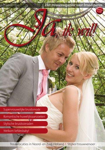 Hét trouwmagazine voor bruidsparen