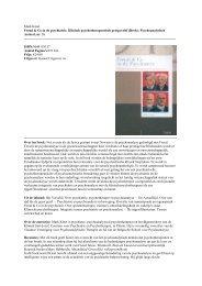 Mark Kinet Freud & Co in de psychiatrie. Klinisch ...