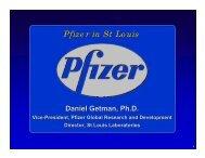 Pfizer in St Louis