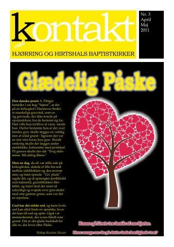 'Kontakt' for april-maj 2011. - Hjørring Baptistkirke