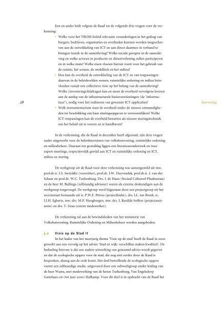 Jaarverslag  - Raad voor de leefomgeving en infrastructuur