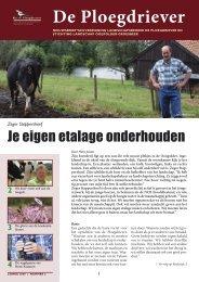 Nieuwsbrief 2009-2 - Stichting Landschap Ooijpolder-Groesbeek