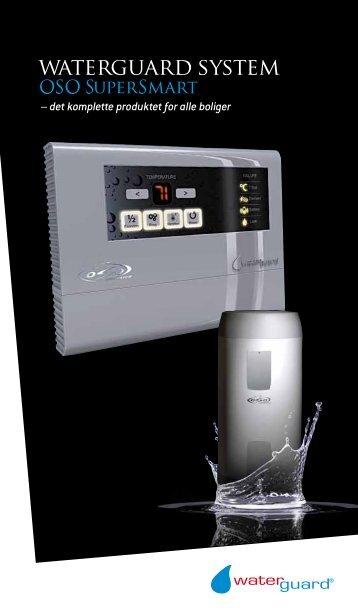 – det komplette produktet for alle boliger - Waterguard