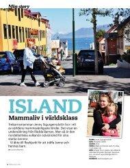 Att vara mamma på Island, Föräldrar & Barn - Caroline Alesmarks