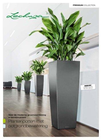 Plantenpotten met potgrondbewatering - Bloemenmagazijn Johan