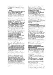 Riktlinjer för utförande av order samt ... - Sparbanken Syd