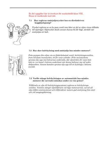 7. Smörjoljesystem - TA-Driftteknik