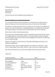 Forældre Hvalsø Skole - Danmarks Lærerforening