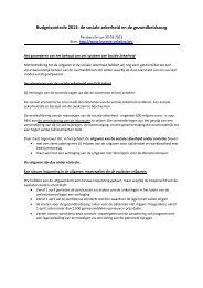 persbericht van minister Onkelinx dd. 30 maart 2013 - Vlaams ...