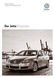 Der Jetta Freestyle - Tauwald Automobile
