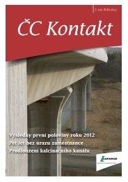 ČC Kontakt č. 101 - Lafarge Cement, as
