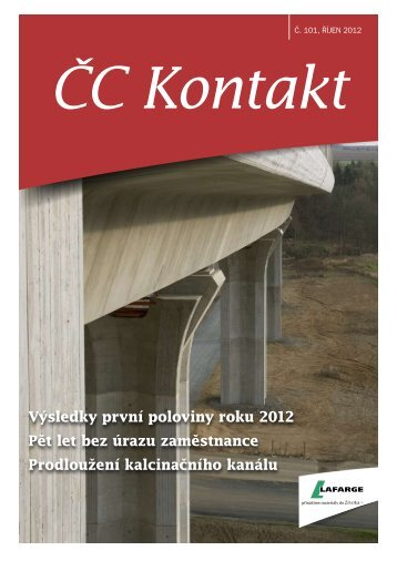 ČC Kontakt č. 101 - Lafarge Cement, as