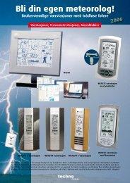 Bli din egen meteorolog! - stroemberg.no