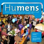 Kwartaalblad Humanitas Groningen stad