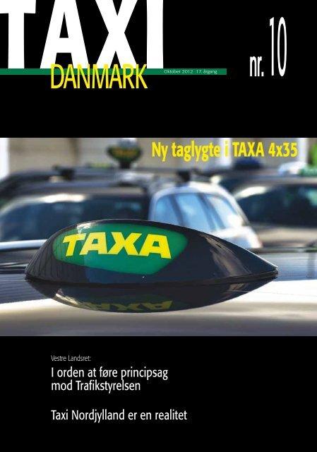 Ny taglygte i TAXA 4x35 - TaxiDanmark
