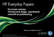 Presentation title goes here - HP Everyday Papers Europe