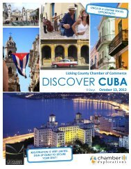 DISCOVER CUBA - Licking County Chamber of Commerce