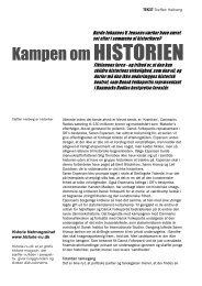Kampen om historien - Historie-nu.dk