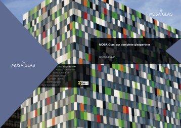 MOSA Glas: uw complete glaspartner Speciaal glas - Wiraco