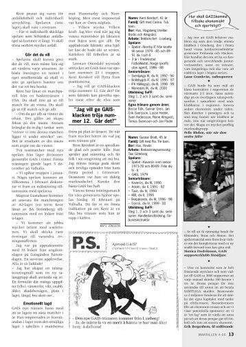 Ivan klipper navelsträngen - GAIS . se