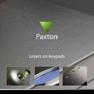 Lezers en keypads - Paxton