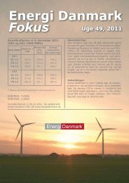 Energi Danmark Fokus uge 49 - 2011
