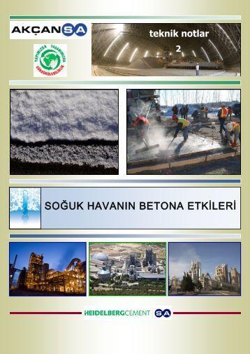 soğuk havanın betona etkileri