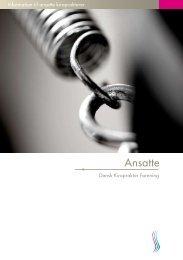Information til ansatte kiropraktorer - Dansk Kiropraktor Forening