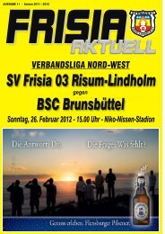 Download - SV Frisia 03 Risum-Lindholm eV
