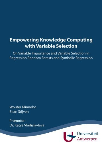 Empowering Knowledge Computing with Variable Selection - On ...