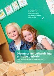 Diagnose en behandeling ernstige dyslexie - Edux