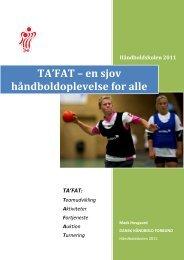 TA'FAT – en sjov håndboldoplevelse for alle - Dansk Håndbold ...
