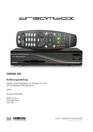 Dm 7020 hd manual