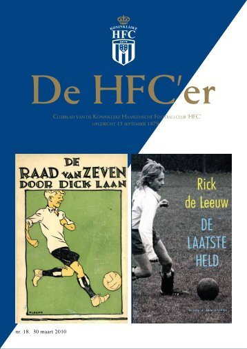 nr. 18. 30 maart 2010 - Koninklijke HFC