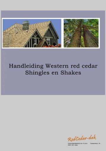 Red cedar dakshingles en shakes